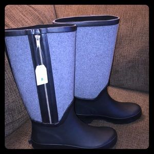 Women's Time and Tru Water Resistant Rain Boots 8